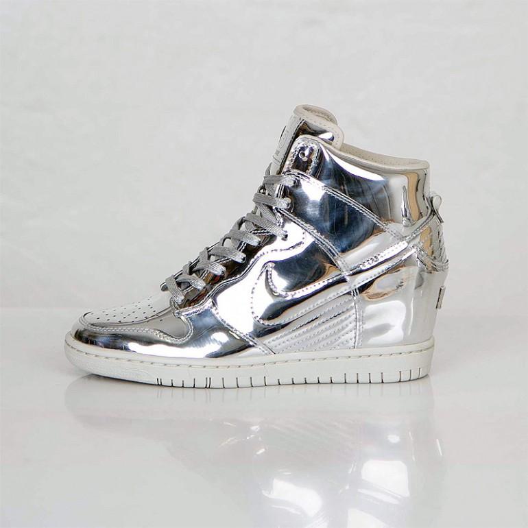 low priced ec63c 8f241 Nike Dunk Sky Hi – Liquid Silver
