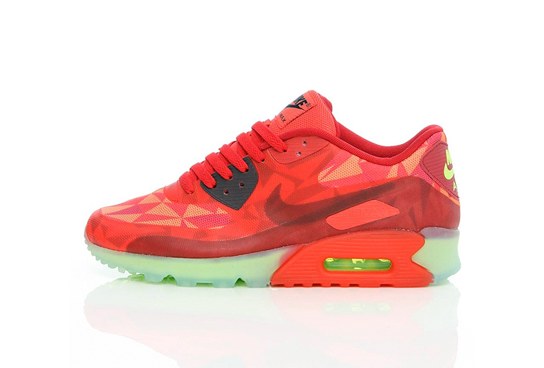 4d0043769f9f ... Nike AIR MAX 90 ICE – Gym Red sneakerb0b RELEASES ...