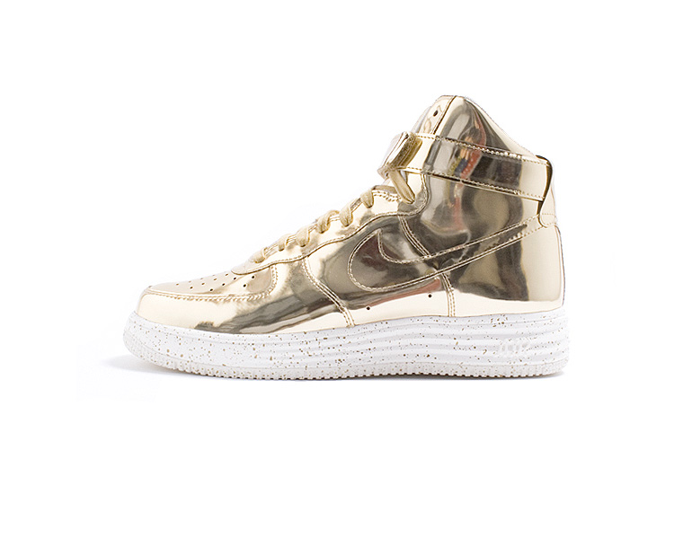 check out 22759 3c0e5 NIKE LUNAR FORCE 1 HI SP – GOLD LIQUID METAL