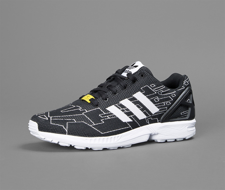 adidas Originals ZX Flux Plus Shoes Trainers Black AQ5398 US 11 2