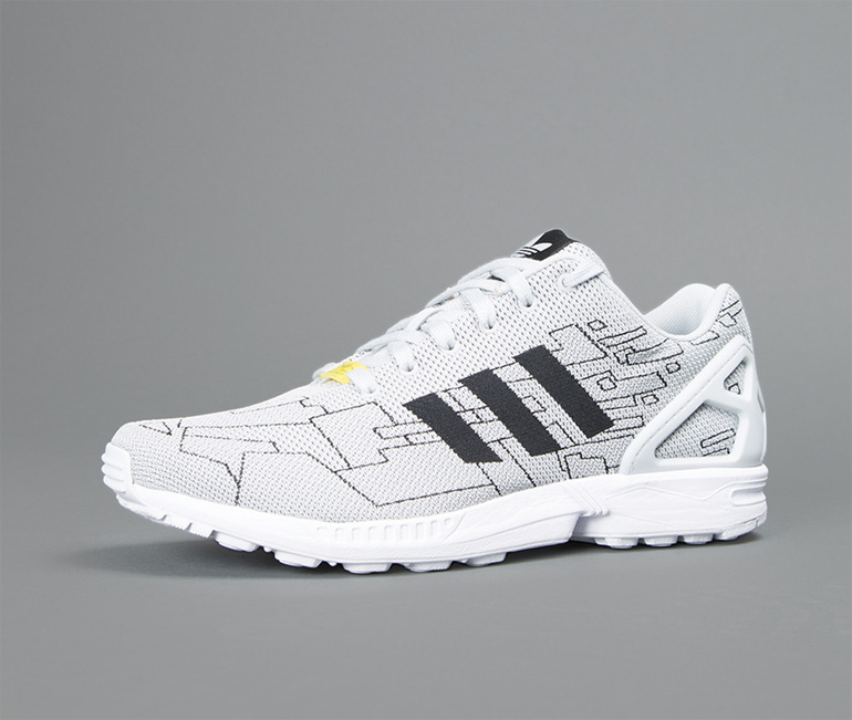 daf1119bd25d adidas ZX FLUX Weave – White Graphic