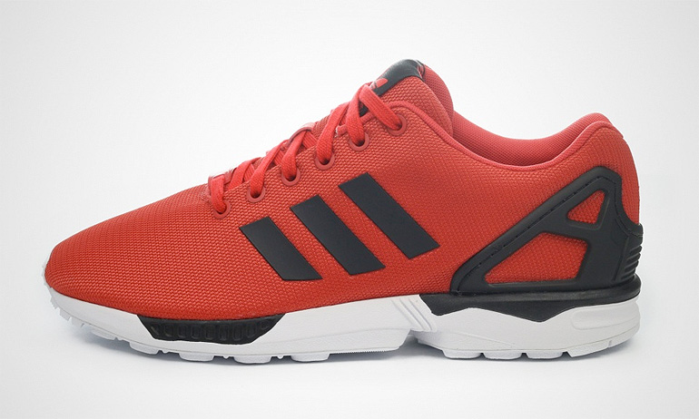 adidas zx flux poppy red
