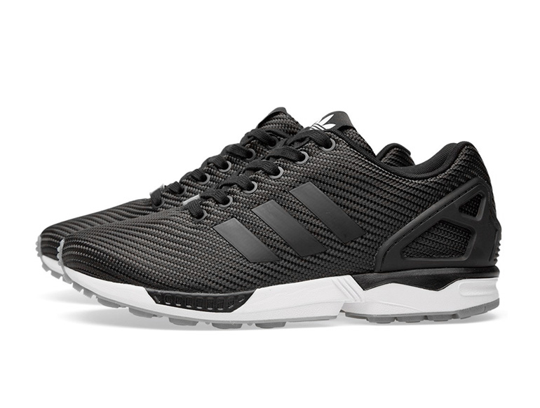 big sale 53c10 00416 adidas ZX Flux – Black Ballistic Woven | sneakerb0b RELEASES