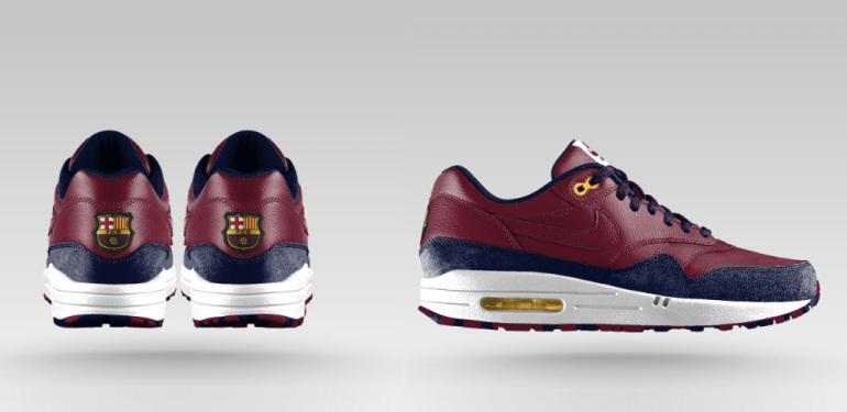 Nike AIR MAX 1 FC Barcelona iD | sneakerb0b RELEASES