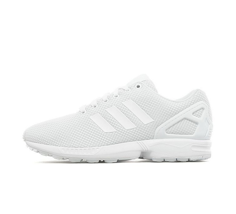 reputable site 09d9c 32214 adidas ZX Flux – Triple White | sneakerb0b RELEASES