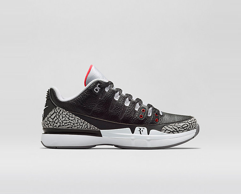 nike court zoom vapor aj3 � black sneakerb0b releases