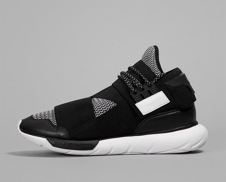 y 3 qasa high primeknit sneakerb0b releases. Black Bedroom Furniture Sets. Home Design Ideas