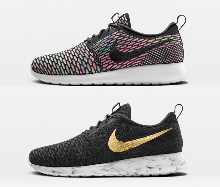 competitive price 7bf3c eadd7 Nike Flyknit Roshe Run iD