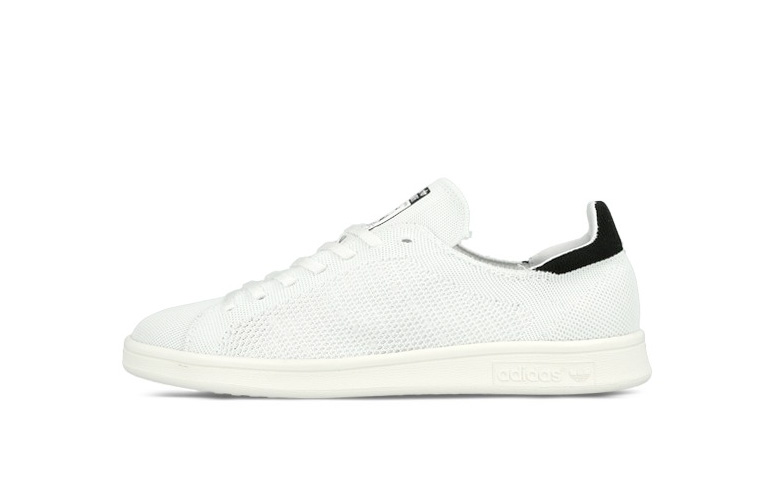 Adidas Stan Smith Primeknit Black And White
