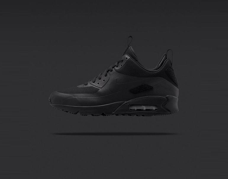 pretty nice d2369 33b19 Nike Air Max 90 SneakerBoot Patch – Black   sneakerb0b RELEASES