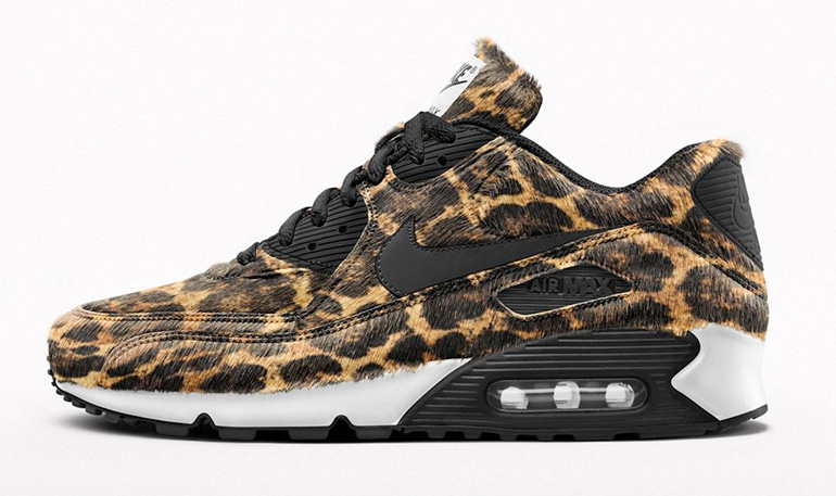 nike air max 90 premium id animal prints