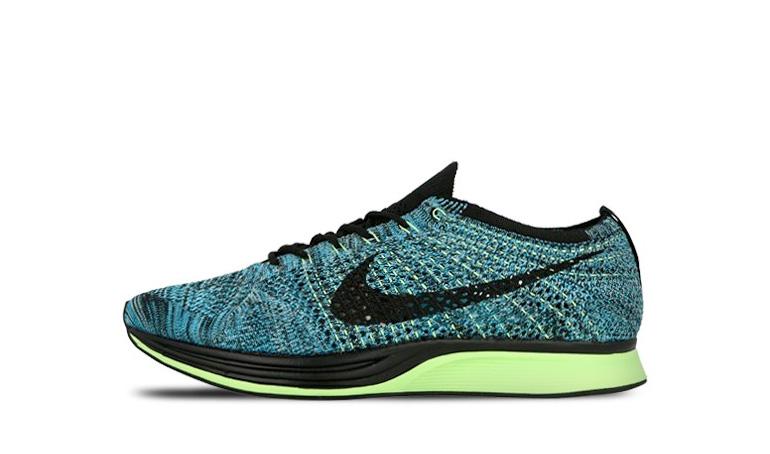 Nike Flyknit Racer Blue Lagoon