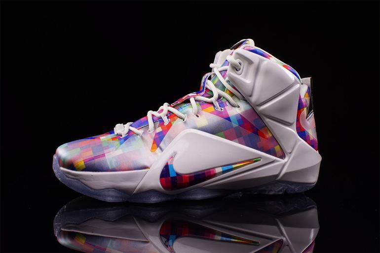 094504422b2a Nike LeBron 12 EXT – Prism