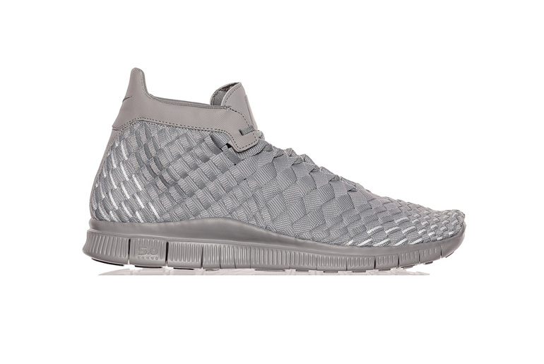 newest 28696 c371a Nike Free Inneva Woven Mid SP – Matte Silver