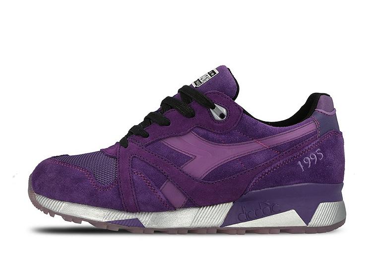 hot sale online dd277 1a2f9 Packer Shoes x Raekwon x Diadora N9000 – PURPLE TAPE
