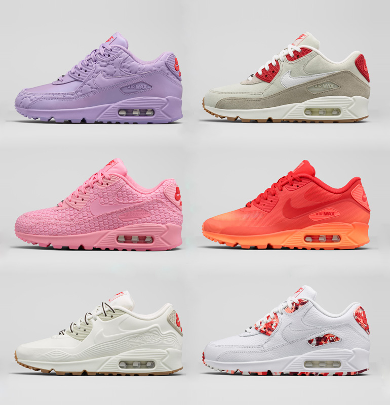 reputable site 7f1e5 64959 Nike WMNS Air Max 90 City Pack – Sweet Schemes