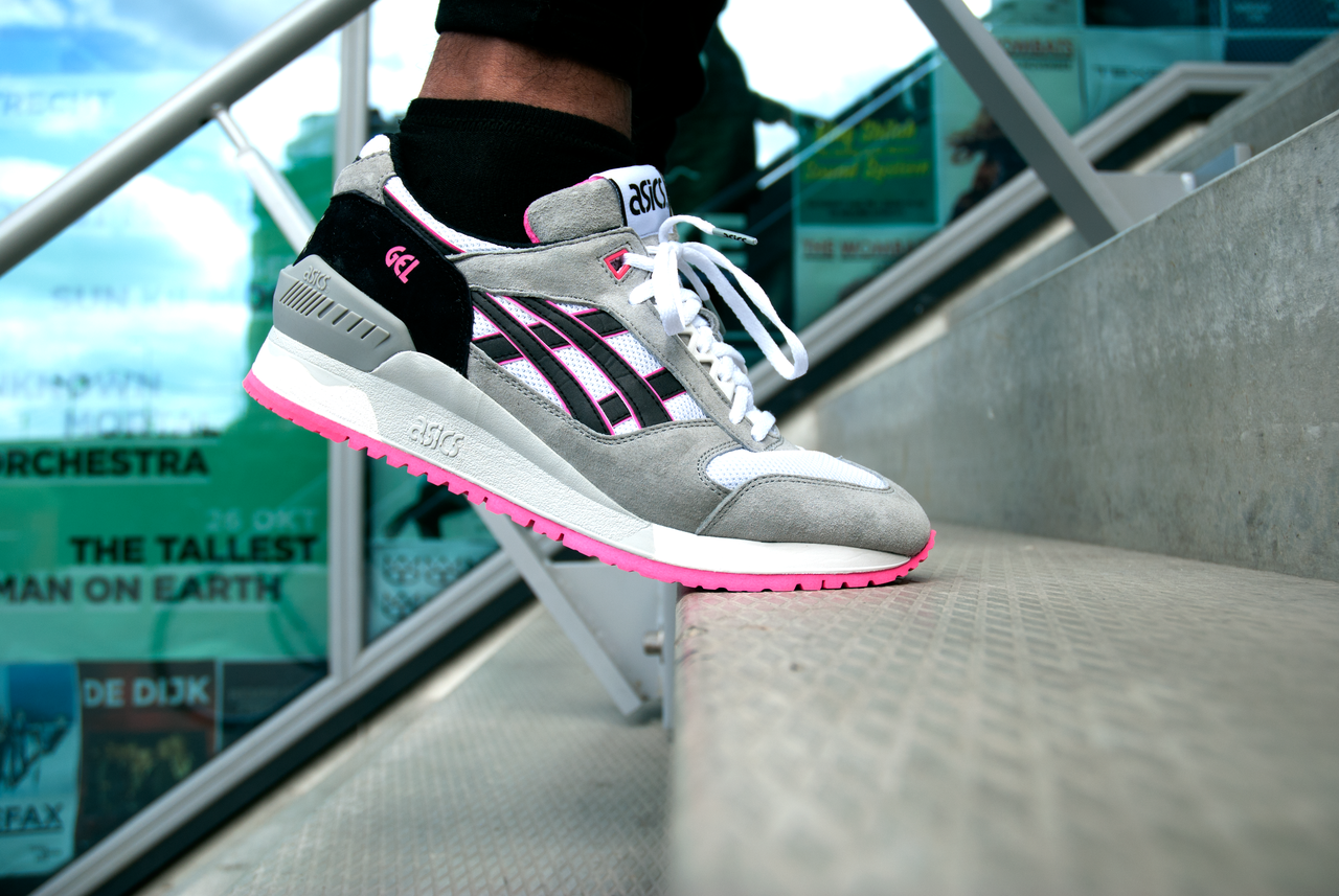 asics gel respector rose