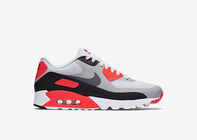 sports shoes 3ebe5 84c4a Nike Air Max 90 Ultra Essential – Infrared