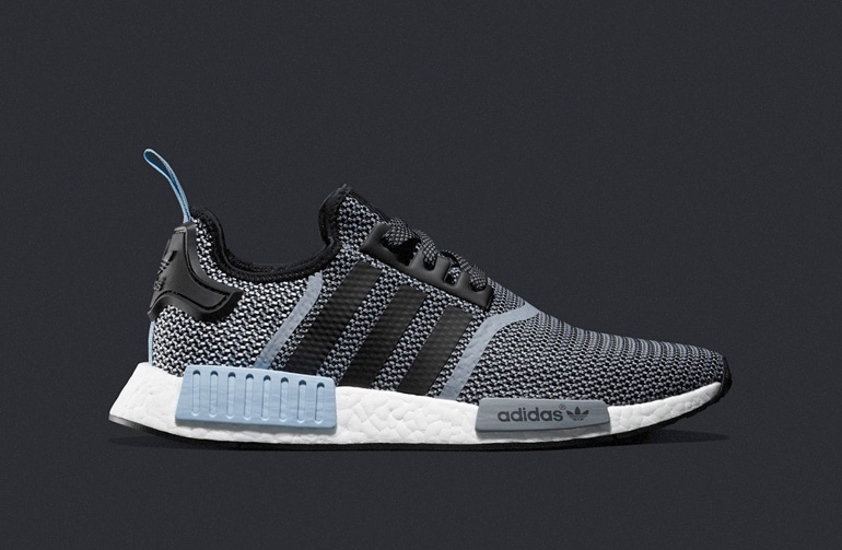Adidas Nmd White With Blue