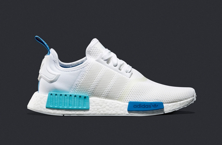 Nmd White Blue