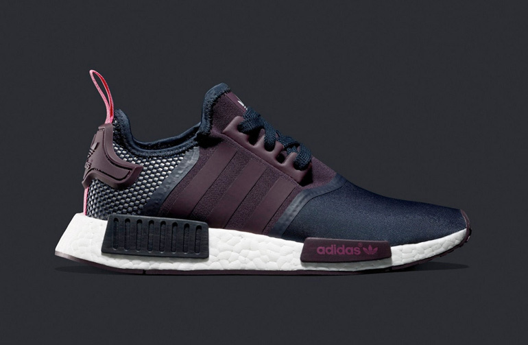Adidas Nmd Grey Purple