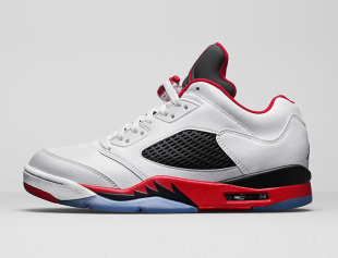 jordan5-low-fire-red