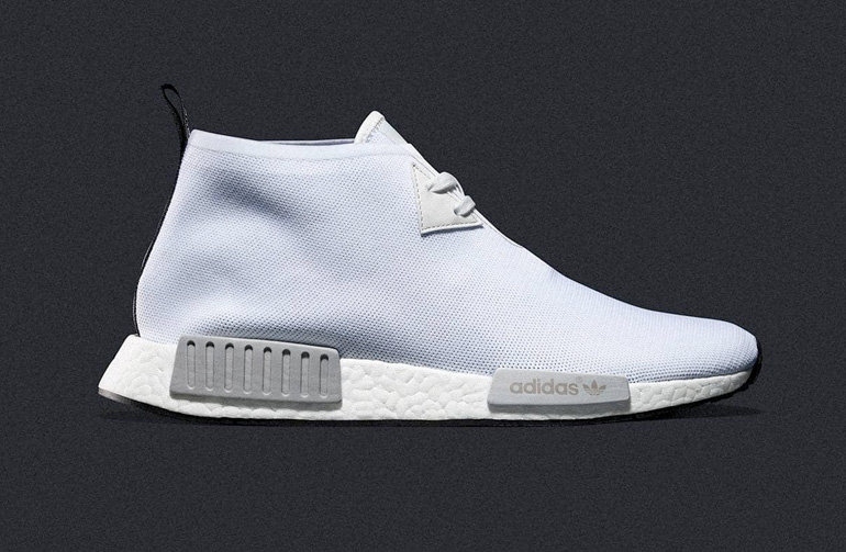 new style a3416 b9b1a adidas NMD C1 Chukka – Vintage White
