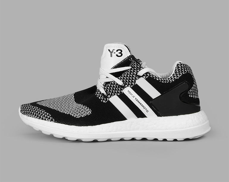 adidas y3 pure boost zg knit black