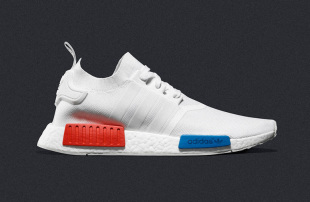The adidas NMD R1 Primeknit In 'OG White'