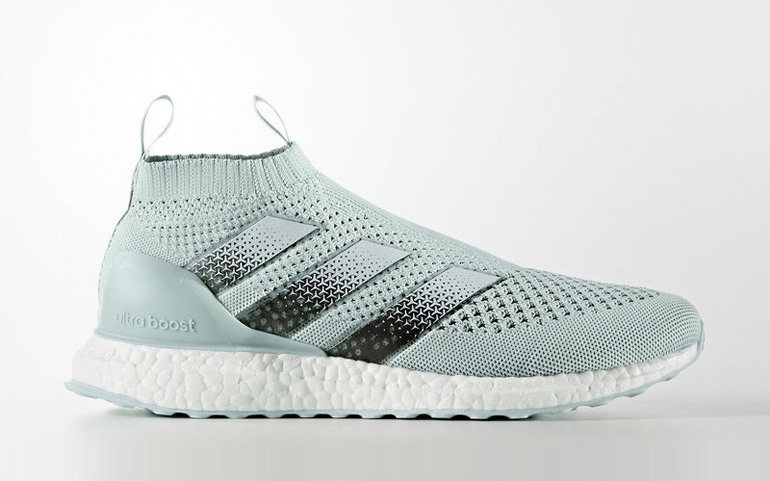adidas ace 16 purecontrol ultra boost vapour green. Black Bedroom Furniture Sets. Home Design Ideas