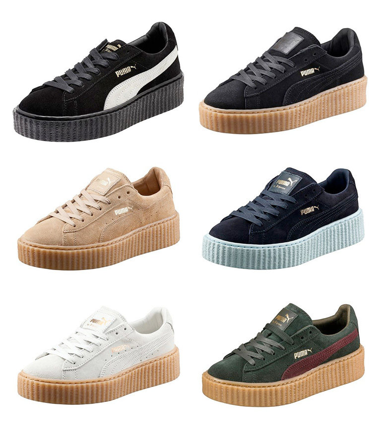 puma and rihanna creepers