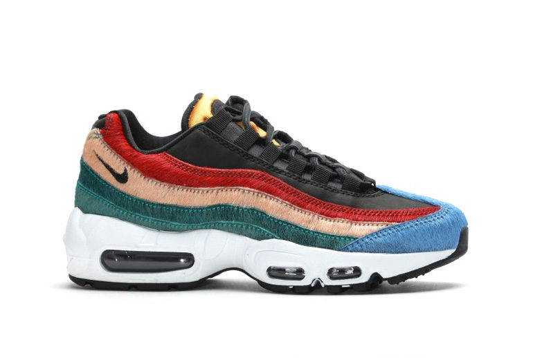 info for 60a41 c3687 Nike WMNS Air Max 95 – Multicolor Pony Fur  sneakerb0b RELEA