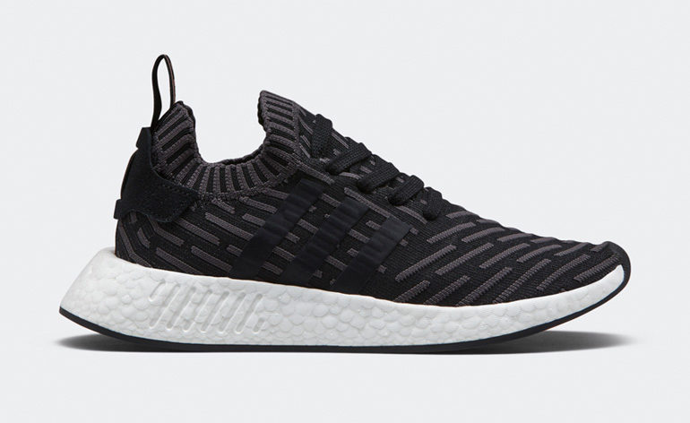 Adidas NMD R2 Black White