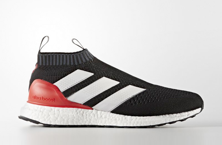 adidas ace 16 purecontrol ultra boost black red. Black Bedroom Furniture Sets. Home Design Ideas