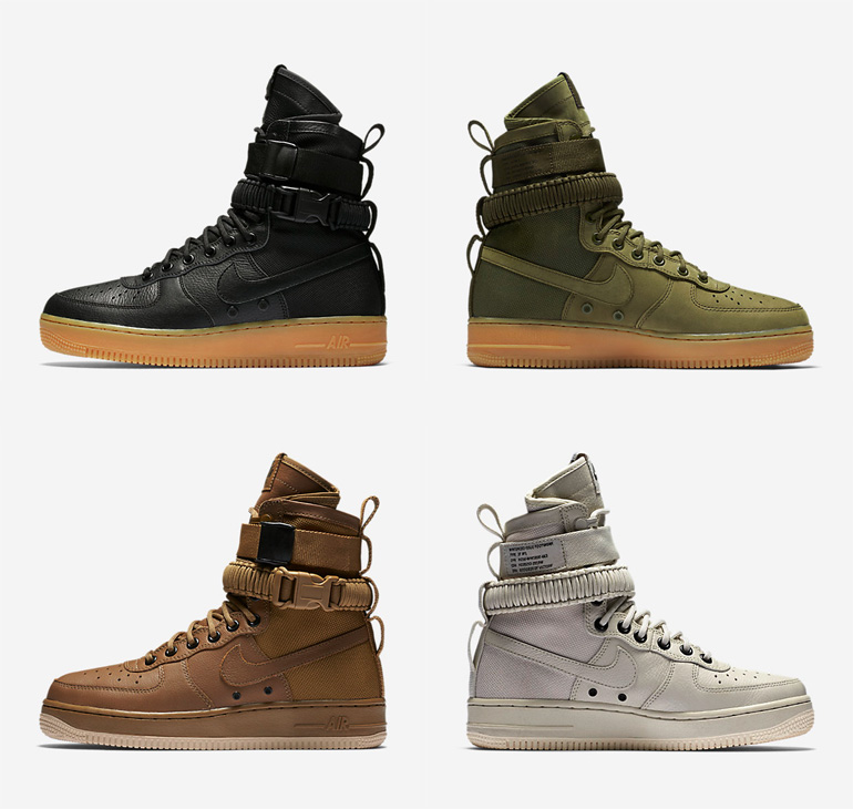 nike special field air force 1 sfaf 1 sneakerb0b releases. Black Bedroom Furniture Sets. Home Design Ideas