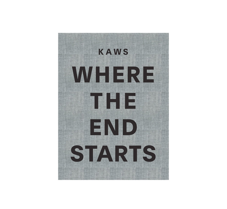 kaws-where-the-end-starts-buch