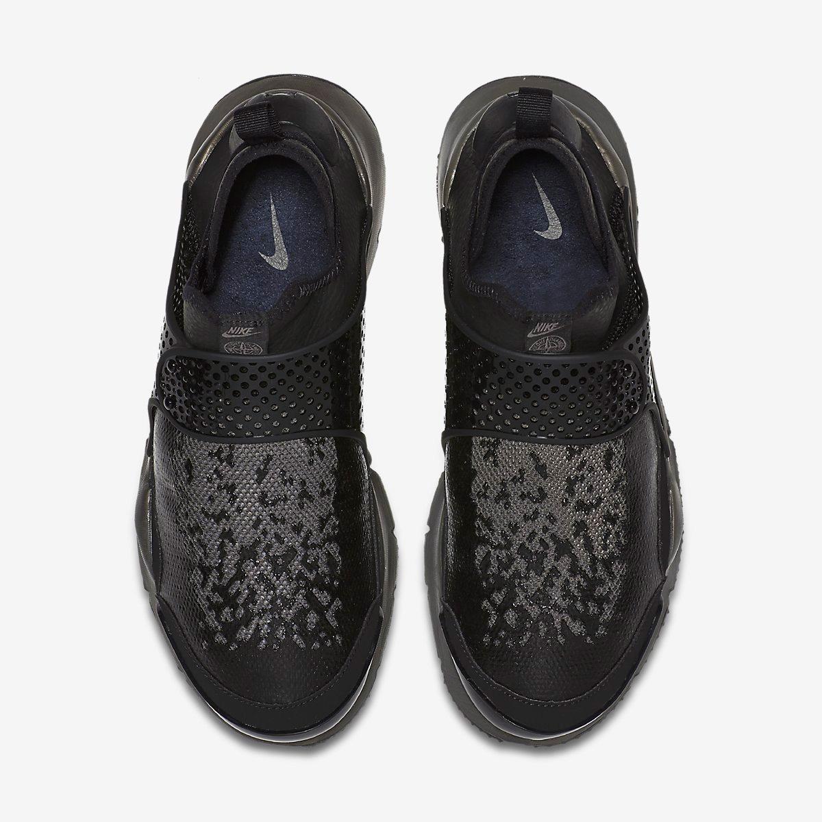 a4c9f22279289 Stone Island x Nike Sock Dart MID – Black