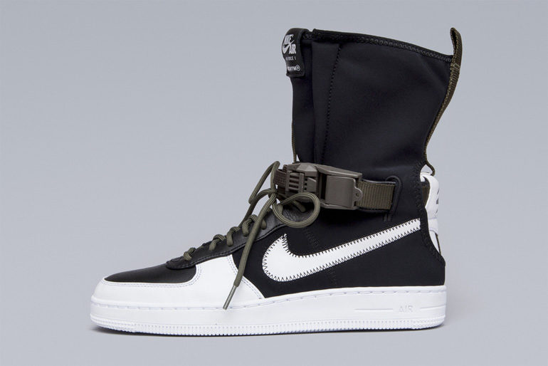78cd74056f4984 ACRONYM x Nike Air Force 1 Downtown HI – Black White