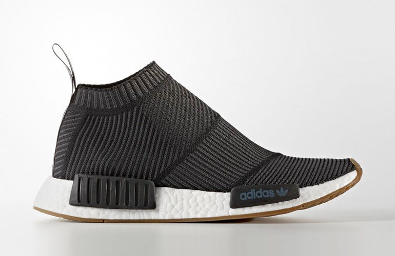 brand new b0f9f 5658d ... adidas nmd cs1 city sock black gum