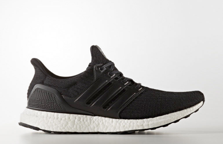 cfc0b89fd8d242 adidas Ultra Boost 3.0 Leather Cage – Black Limited Edition