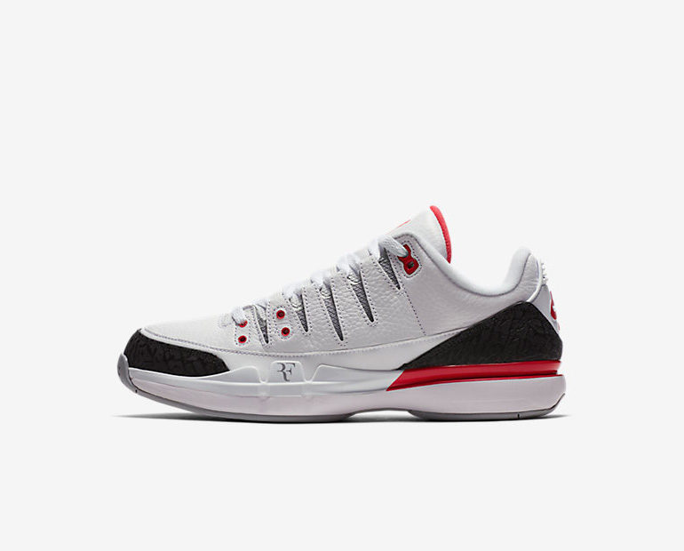 36331a6c271c2 Nike Court ZOOM Vapor AJ3 – Fire Red