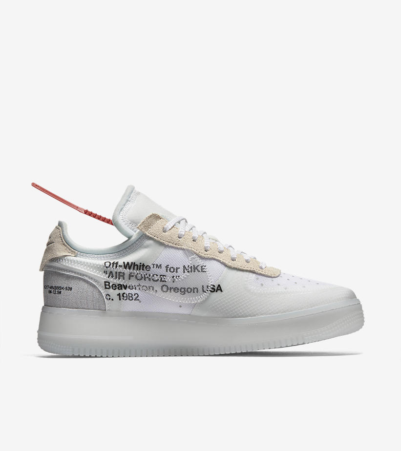 28900e66385e Off-White x Nike Air Force 1 Low – The Ten
