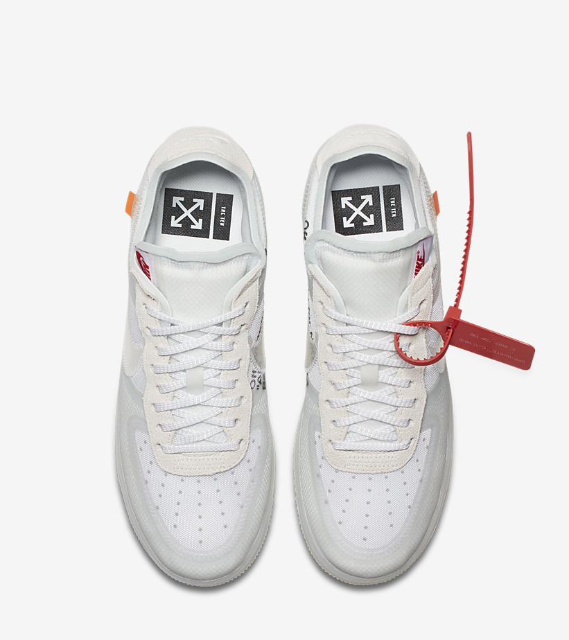 Off White x Nike Air Force 1 Low – The Ten | sneakerb0b RELEASES