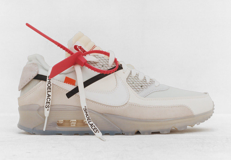 7ee4ae419064 Off-White x Nike Air Max 90 – The Ten