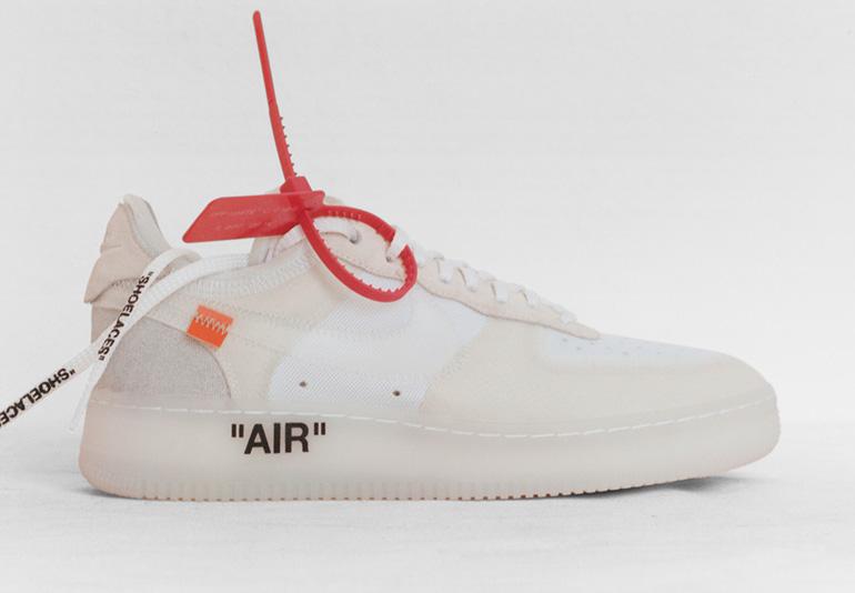 Nike Air Force 1 Off Date Rilascio Bianco Tc9E4rb