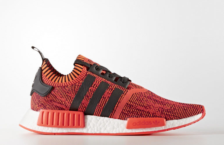 sports shoes 69bf3 9400a adidas NMDR1 Primeknit – A.I. Camo Red Apple 2.0