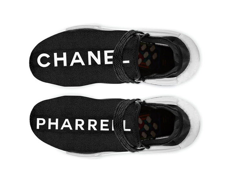 07cf55589 CHANEL x adidas Originals   Pharrell Williams HU NMD