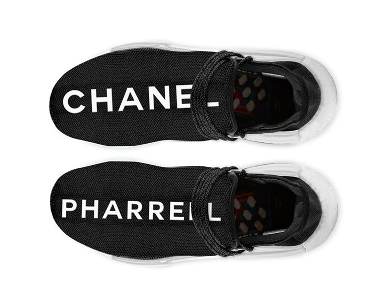 sports shoes 5ae4b cfa7a CHANEL x adidas Originals = Pharrell Williams HU NMD ...