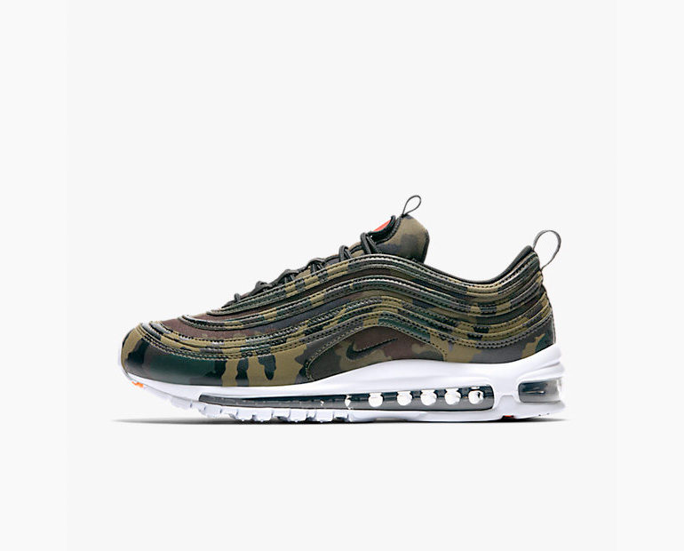 factory authentic f7971 b8a65 Nike Air Max 97 France – Country Camo Pack  sneakerb0b RELEA