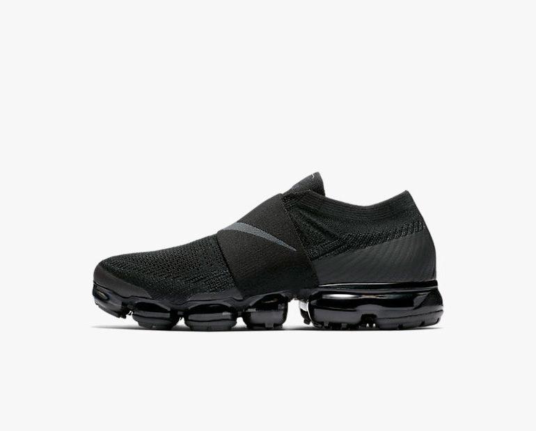 34c62304be Nike Air VaporMax Flyknit Moc – Triple Black   sneakerb0b RELEASES